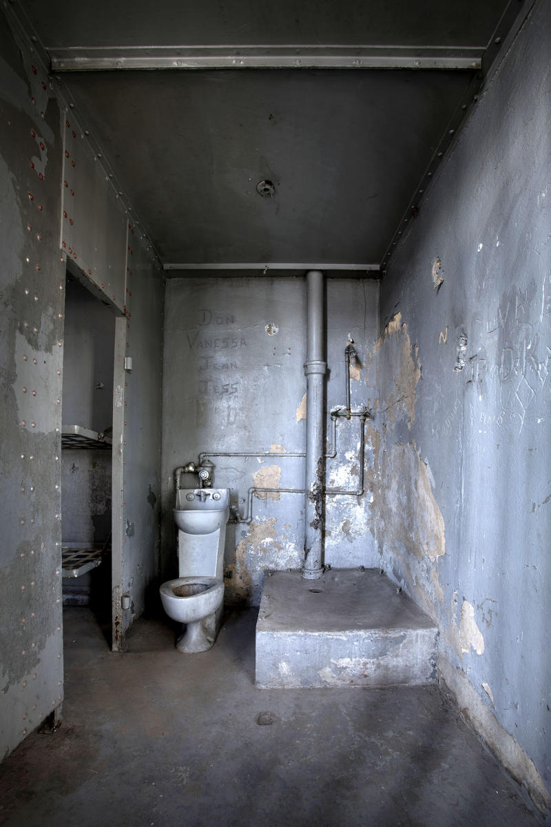 Jail and Toilet, Globe, Arizona