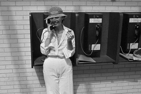 1977 Payphone Midtown Plaza Entrance 21st Street and 1st Ave, Saskatoon, SK