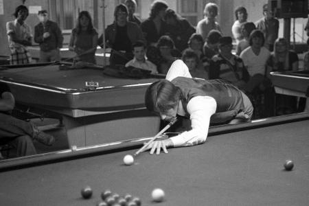 1977 Cliff Thorburn World Champion Riversdale Billiards 20th Street and Ave E  Saskatoon, SK